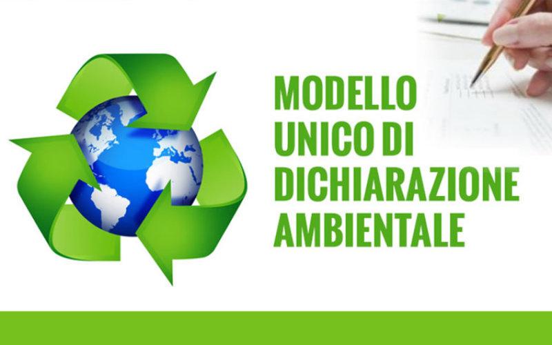 modello unico dichiarazione ambientale smeda